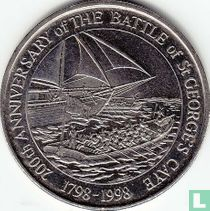 """Belize 2 dollars 1998 """"200th anniversary Battle of St. George's Cayes"""""""