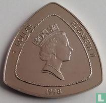"Bermuda 1 dollar 1998 ""Bermuda Triangle"""