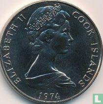 Cookeilanden 1 dollar 1974