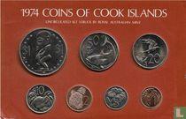 Cookeilanden jaarset 1974