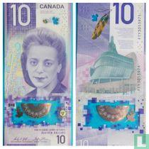 Canada 10 Dollars 2018