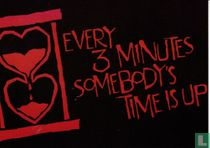 """British Heart Foundation """"Every 3 Minutes Somebody's Time Is Up"""