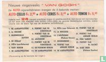 Beschrijvingskaart - Serie Van Gogh