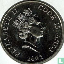 "Cookeilanden 50 cents 2002 ""50th anniversary Accession of Queen Elizabeth II"""