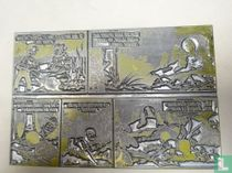 Suske en Wiske - dubbele drukplaten, La fleur de la jungle 97, 1969