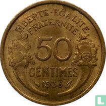 Frankrijk 50 centimes 1938