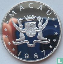 "Macau 100 patacas 1987 (PROOF) ""Year of the Rabbit"""