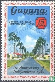Eerste verjaardag van de onafhankelijkheid