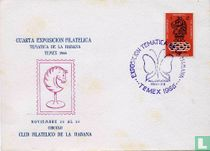 Philatelistische Ausstellung in Havanna