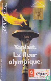 Yoplait La fleur olympique