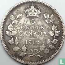 Canada 5 cents 1912 kopen