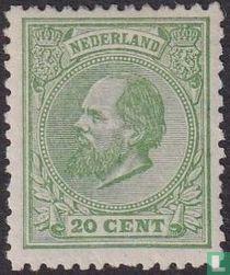 King Willem III (K12½: 12)