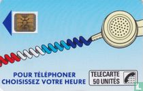Pour téléphoner choisissez votre heure