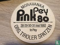 Pink Pey 80 - 28-29-30-31 mei 1982