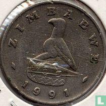 Zimbabwe 20 cents 1991