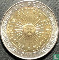 Argentina 1 peso 2007