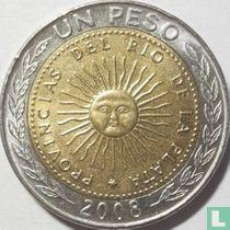 Argentina 1 peso 2008