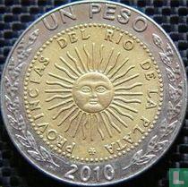 Argentina 1 peso 2010