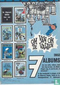 De uitgeverij Dupuis koos voor u om van om te vallen 7 enige albums