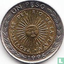 Argentina 1 peso 1996