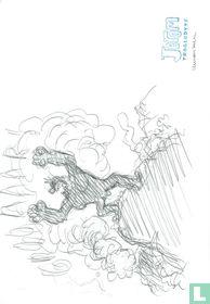 Cromheecke, Luc - Originele schets - Jerom Woest- (2015)