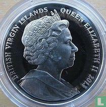 "Britse Maagdeneilanden 10 dollars 2013 (PROOF - kleurloos) ""10th anniversary Last scheduled flight of Concorde"""