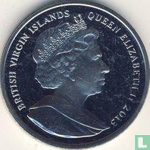 """Britse Maagdeneilanden 1 dollar 2013 """"50th anniversary Death of John F. Kennedy"""""""