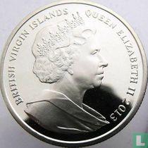 "Britse Maagdeneilanden 1 dollar 2013 (kleurloos) ""10th anniversary Last scheduled flight of Concorde"""