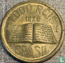 Brasilien 1000 Réis 1935