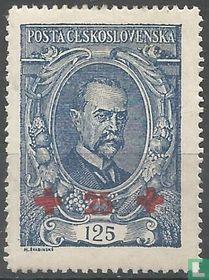 President Masaryk (opdruk Rode Kruis)