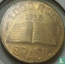 Brasilien 1000 Réis 1936