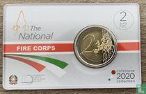"Italien 2 Euro 2020 (Coincard) ""National fire department"""