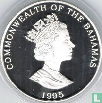 "Bahama's 2 dollars 1995 (PROOF - OLYMPIC) ""1996 Summer Olympics in Atlanta"""
