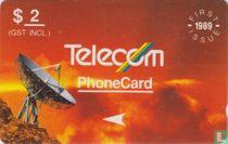 Satellite dish 1989