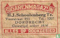 Sigarenmagazijn H.J.Schoolenberg Tz.