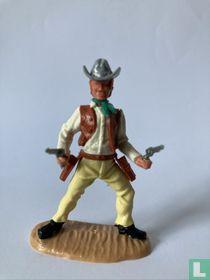 Cowboy Met 2 revolvers