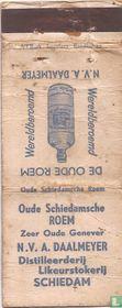 Oude Schiedamsche Roem - Zeer Oude Genever