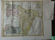 Nieuwe kaart van het Baljuwschap Gooiland