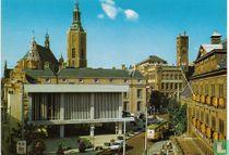's Gravenhage - Groenmarkt met St. Jacobskerk