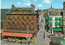 Den Haag  Groenmarkt - Hoek Hoogstraat