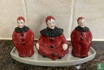 Peper, zout en mosterd - Pierrot
