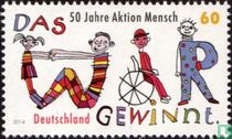 "50 years of ""Aktion Mensch"""