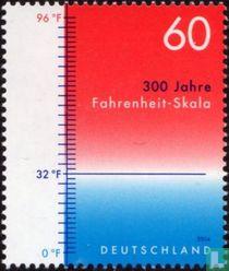 300 jaar Fahrenheitschaal