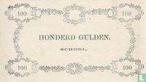 Schoolgeld 100 Gulden 1860