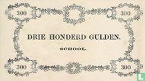 Schoolgeld 300 Gulden 1860