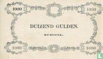Schoolgeld 1000 Gulden 1860