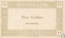 Schoolgeld 10 Gulden 1894