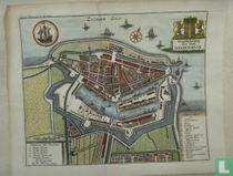 Stads plattegrond Medemblik