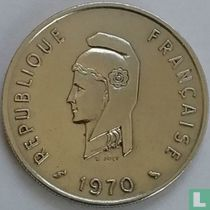 Frans Afar- en Issaland 50 francs 1970