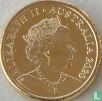 "Australia 2 dollars 2020 (without C) ""75 years End of second World War"""